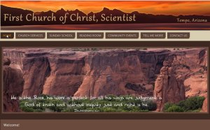 First Church of Tempe Web Site